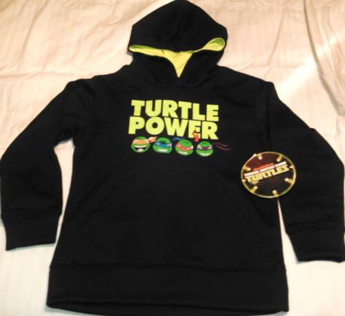 NEW Teenage Mutant Ninja Turtles TMNT HOODIE SWEATSHIRT JACKET Boy/'s Sz L 10 12