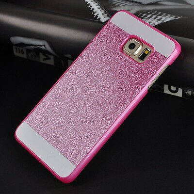 Fashion Bling Glitter PC Hard Case Back Cover For Various Samsung Galaxy Phone