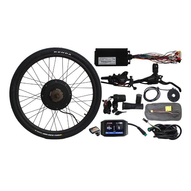 Mountain BIKE 48V 500W ruota posteriore bicicletta elettrica Kit Di Conversione Spedizione SZ