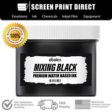 Ecotex Mixing Black Premium Water Based Ink For Screen Printing All Sizes