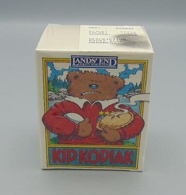 Lands' End Kid Kodiak Rugby Bear Christmas/Holiday ...