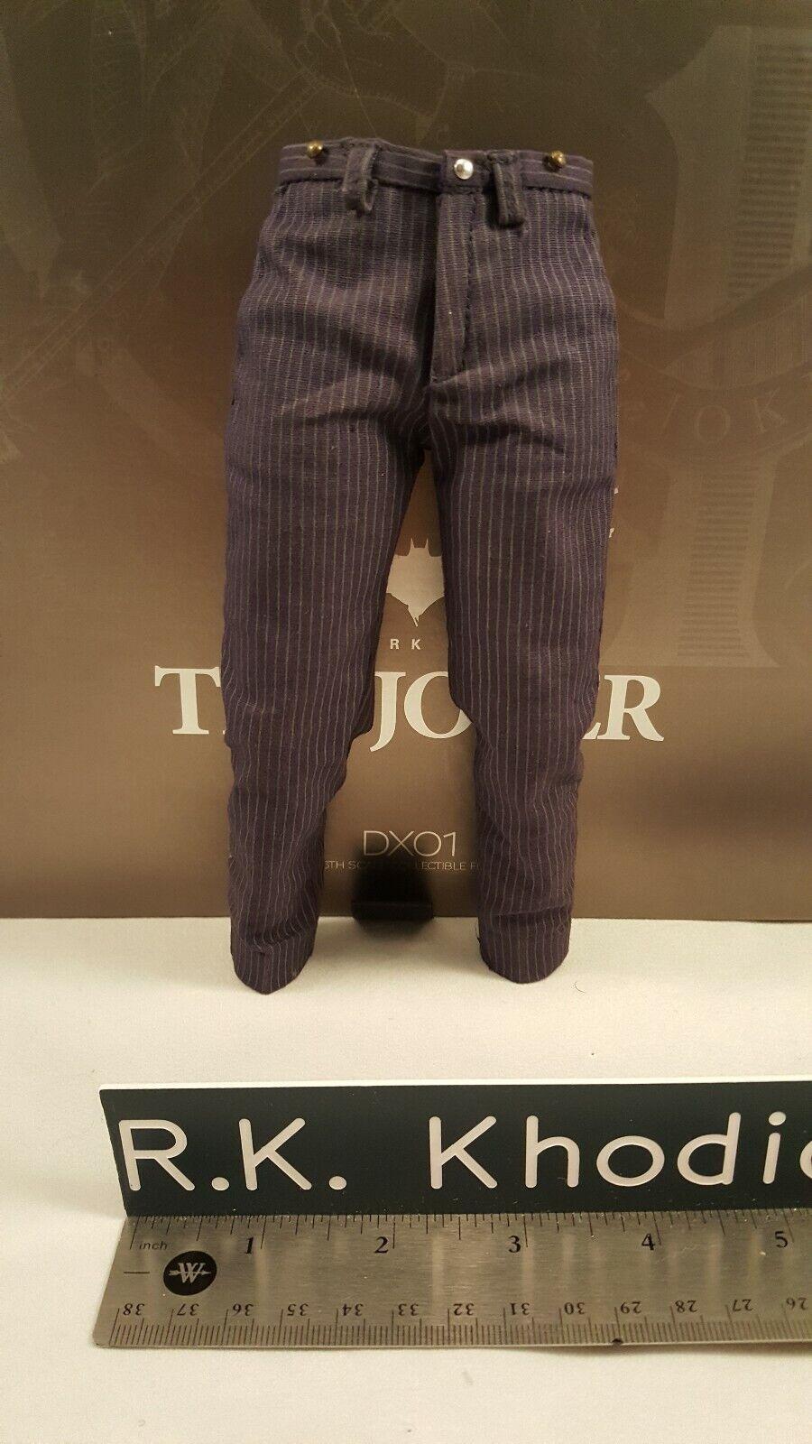 Hot Toys 1 6 DX01 Batman 12  Joker action figure Heath Ledger's lila pants