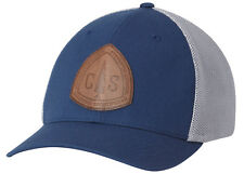 9c7ef07a6980d7 Columbia Rugged Outdoor Mesh Hat Cap L/xl Gray Leather Sportswear ...