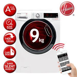 Waschmaschine Frontlader A+++ -40% 9 kg HOOVER DXOASD49AHB7-84 Inverter-Motor