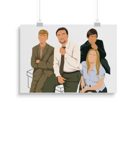 The Office Wall Art Print Home Decor Gift Poster UK