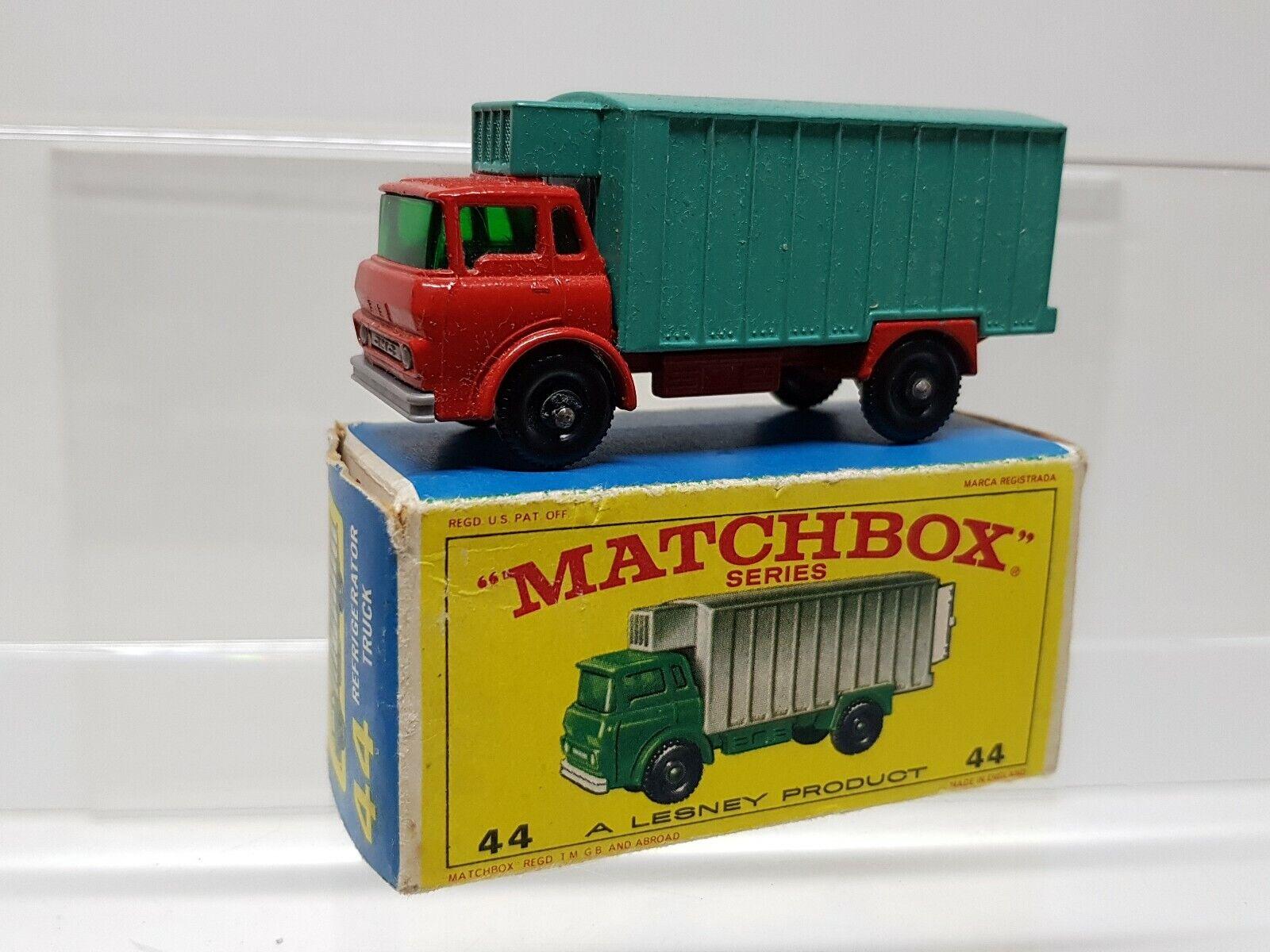 1960s.Matchbox Lesney.44 Refridgerator min in original box