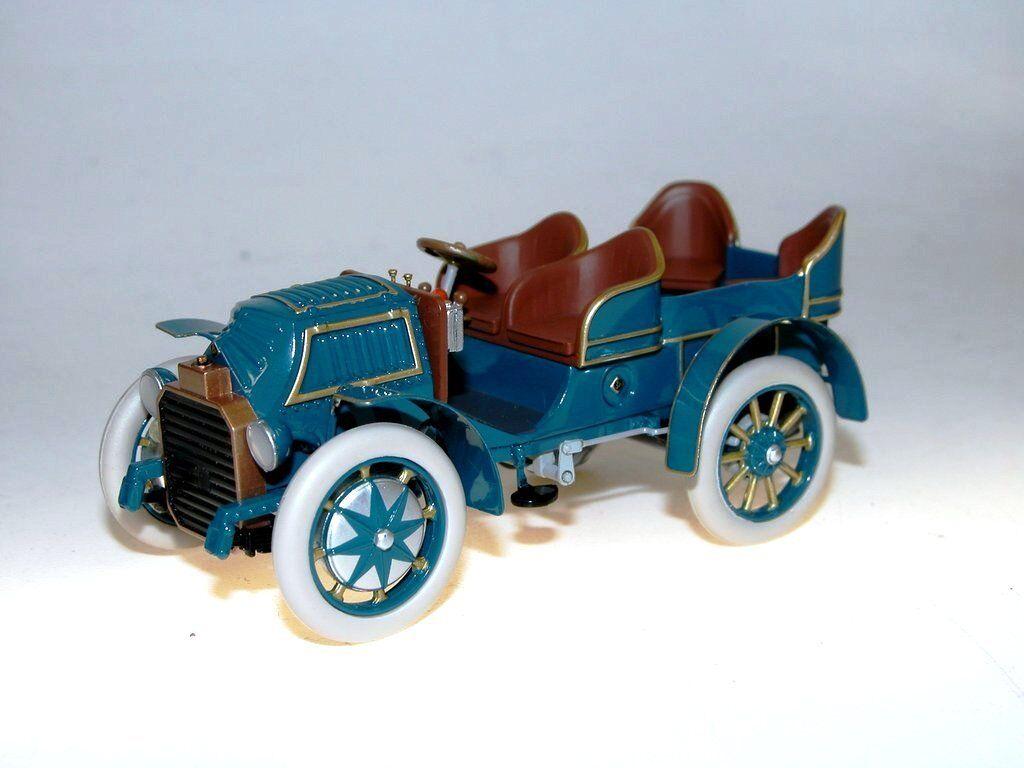 Fahrtraum, 1901 Lohner-Porsche Mixte, 4-Sitzer, blue, abnehmbare Motorhaube 1 43