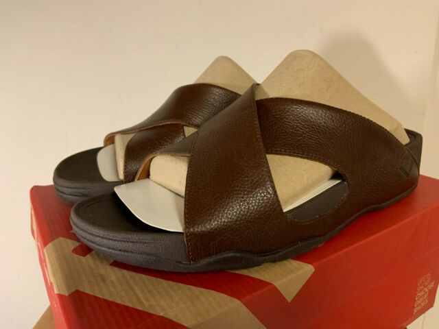FitFlop Men's XOSA Sandals Size 12 Tan