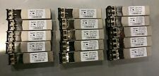 Lot of 15 - AFBR-57R5AEZ AVAGO SFP Transceiver 850nm -- FAST SHIPPING! #V6