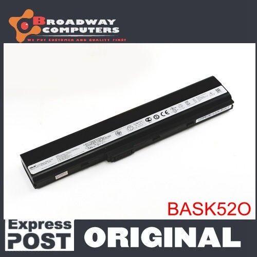 Original Battery ASUS K52J K52JB K52JC K52JE K52JK K52JR K52N K62F K62J K62JR