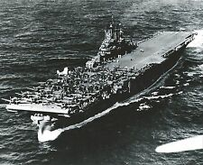 USS INTREPID 8X10 PHOTO NAVY US USA MILITARY CV-11 SHIP AIRCRAFT CARRIER B/W