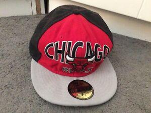 Caricamento dell immagine in corso Chicago-Bulls-Snapback-Cappello-da- Baseball-in-Rosso- b932d684075d