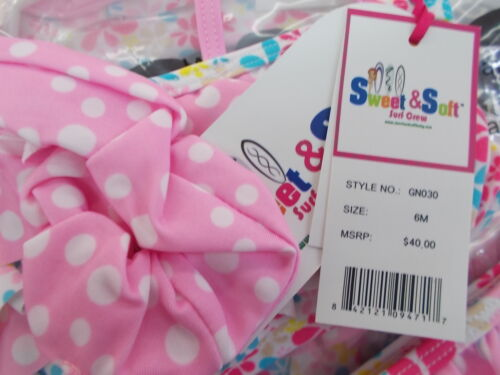 Infant /& Toddler Girls Sweet /& Soft $30 2T $40 2pc Swimsuits Size 6 Months