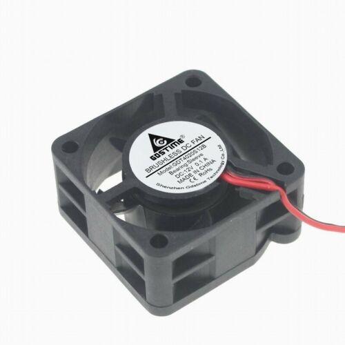 40x40x20mm 12V 0.1A 6000RPM PC Case Fan 2pin Brushless DC Fan Cooling Cooler