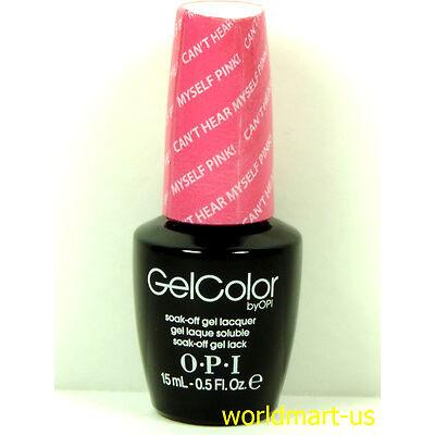 OPI GelColor UV/LED Soak off Gel Nail Polish 15ml/.5oz /Choose Any Colour Part 1