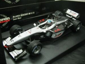Wow extrêmement rare Mclaren Mp4 / 16b # 0 Alesi Test France 2002 1:18 Minichamps