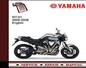 image is loading yamaha-mt01-mt-01-2005-2008-service-repair-
