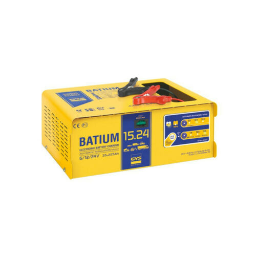 Chargeur automatique GYS BATIUM 15 24 6//12//24v pour batterie de 35-225ah 024526