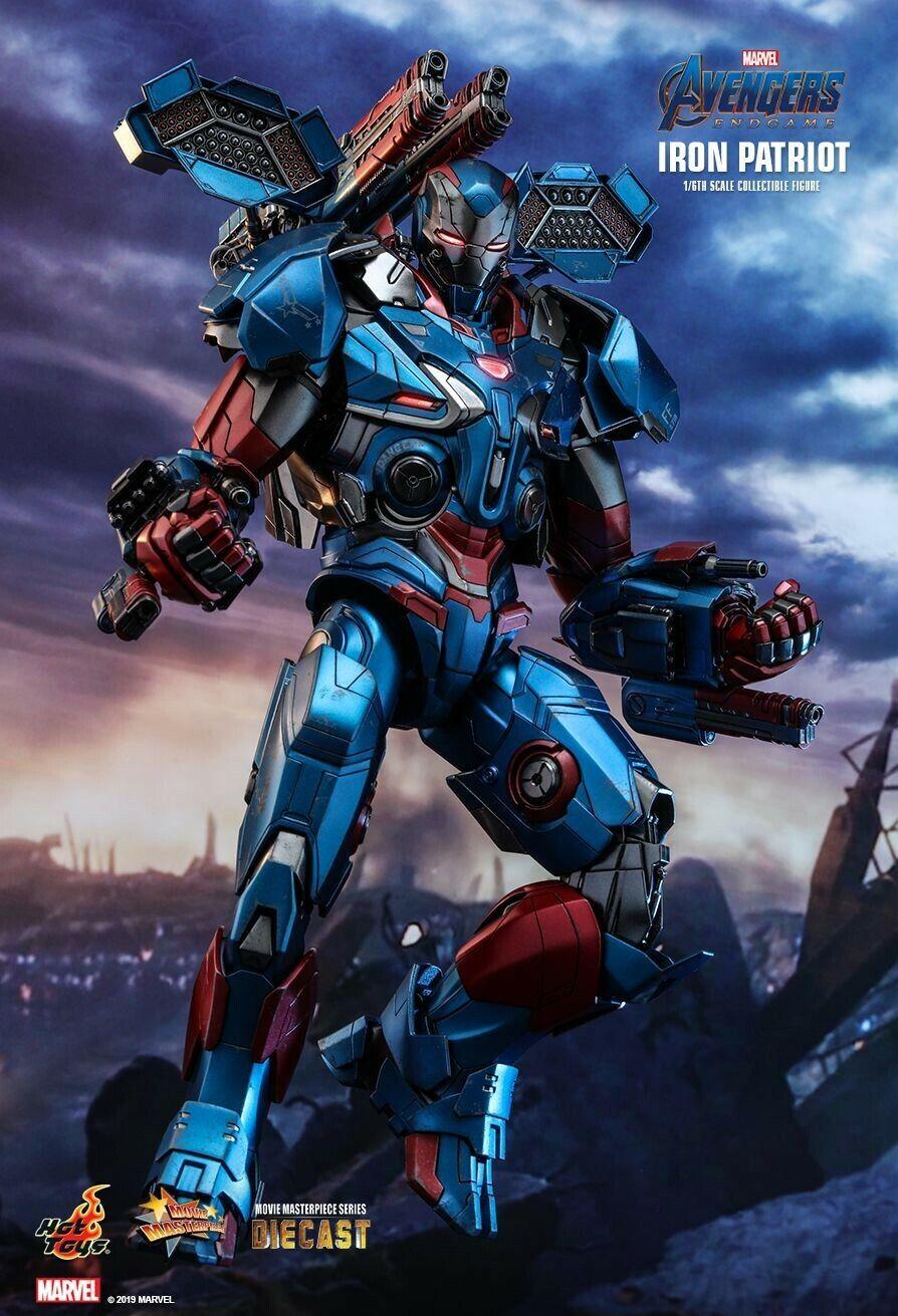 (Pre Order) Hottoys Iron Patriot (Marvel Avengers Endgame)