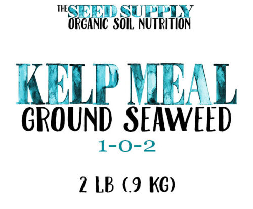 2 Pounds Organic Maxicrop Kelp Meal 1-0-2 Natural Norwegian Seaweed Nutrients