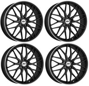 4-AEZ-Crest-dark-Wheels-7-5Jx17-5x114-3-for-SUZUKI-Kizashi-Sx4