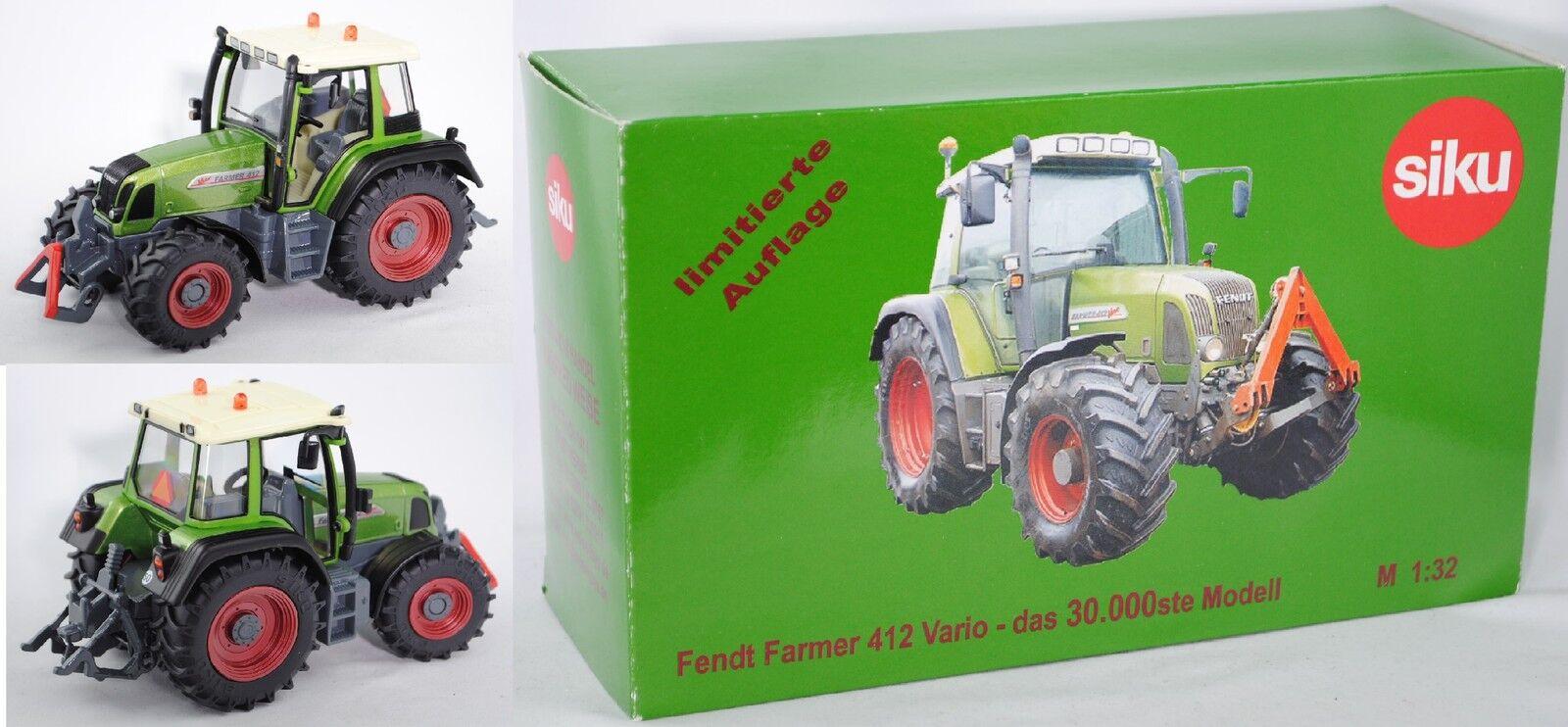 SIKU FARMER 2968 fendt farmer 412 Vario  30.000ste modèle  1 32 Modèle Spécial