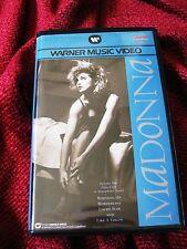 Madonna FIRST 4 VIDEOS Original WARNER HOME VIDEO Promo BIG Box Set IMPORT ONLY