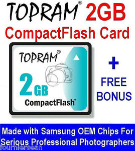 Image Is Loading 2 GIG GB COMPACT FLASH CF MEMORY CARD