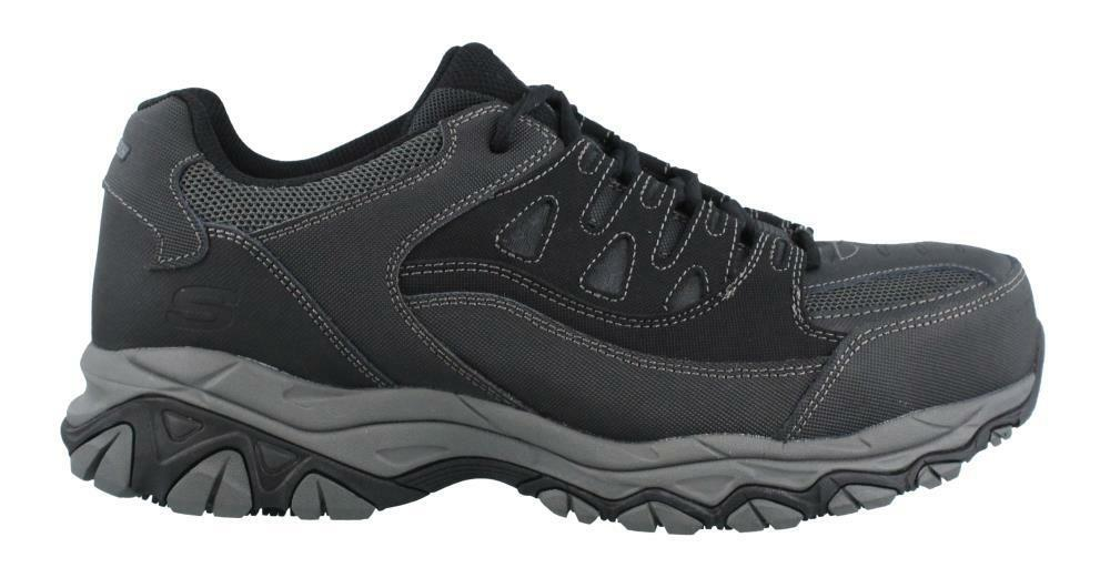 Skechers Holdredge Steel Toe Lace Up  Shoe Uomo Work And Uniform Shoes