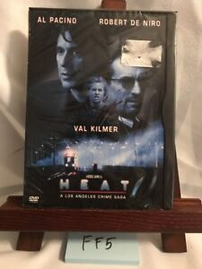 Heat - DVD - Closed-captioned Color Dolby Full Screen Widescreen! BRAND NEW! FF5