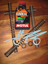 Honda CBR 1000 F ab'93 (SC24) - Wirth Progressive Gabelfedern, Gabelöl, Wedis