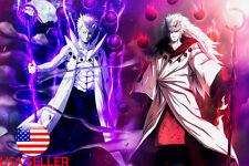 "Sasuke Uchiha Itachi Sharingan Anime 36/"" x 24/"" Large Wall Poster Print Manga"