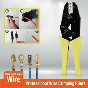 Wire-Crimpling-Pliers-Professional-Wire-Crimpers-Engineering-Ratchet-Terminal-MY