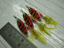 D118. Willow Leaf Blade Spinners 6g #3.5 Lures Bait Bass Salmon Pike Sea Trout
