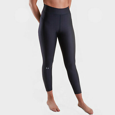 Geschickt Under Armour Womens Heatgear Ladies Ankle Crop Leggings Black üBerlegene (In) QualitäT