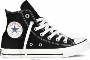 4c54c3081288be Converse All Star Chuck Taylor Black White Hi Top Canvas New In Box ...