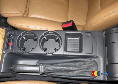 BMW Série 3 E46 1998-2006 Neuf D/'Origine Centre Monnaie Rangement Noir Schwarz