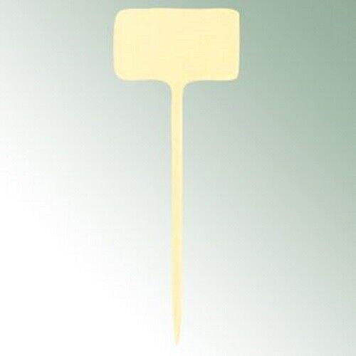 Standetiketten Pflanzschilder Pflanzetiketten Stecketiketten beige creme