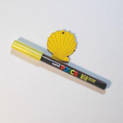 Zeichnen Extra Fein für Kartengestaltung POSCA PC-1MR Farbmarker Schreiben
