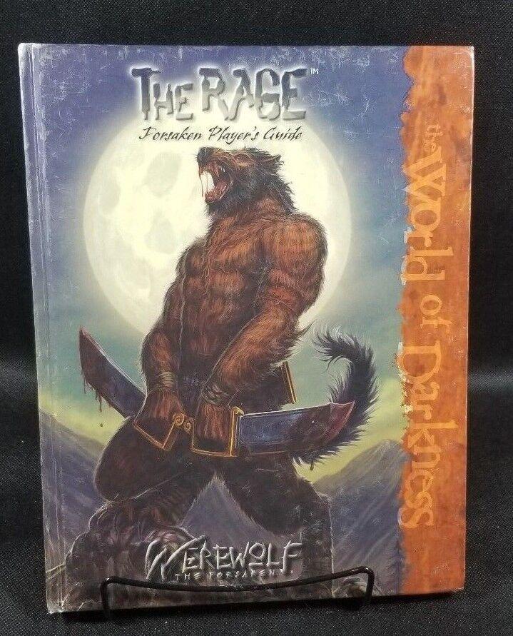 The Rage Forsaken Player's Guide Werewolf The Forsaken  RPG libro