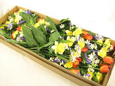 Ingrosso Fiori.12x All Ingrosso Fiori Artificiali Tulip Daffodil Primrose Bush