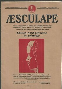 Aesculape-magazine-Edition-north-african-and-colonial-No-11-November-1932-REF