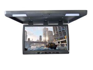 "56 cm Deckenmonitor 22"" Flipdown TFT LCD MONITOR IR Auflösung 1680x1050  LED HD"