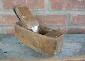 Antique-W-Butcher-Wood-034-Coffin-034-Block-Plane-Sheffield-England