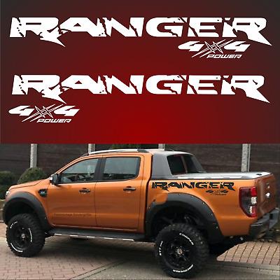 4x4 Passt Für Ford Ranger 4x4 Aufkleber Sticker 4 X 4 Offrod Off Road 4 X 4 Jeep Ebay