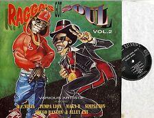 VARIOUS -  Ragga's Got Soul Vol 2 MINT UK LP RAGGA DANCEHALL DISCOTEX RECORDS