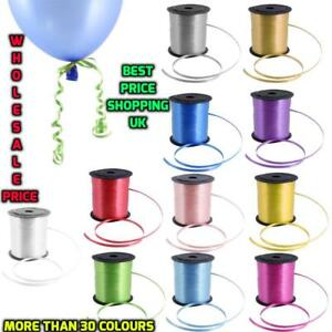 wholesale 50M Colour Balloon Ribbons Helium Wedding Baloons Ribon Birthday new