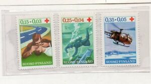 Finlandia-Cruz-Roja-Serie-del-ano-1966-DR-310