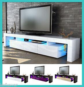 Mobile tavolo porta tv moderno laccato lucido salotto for Mobile sala design