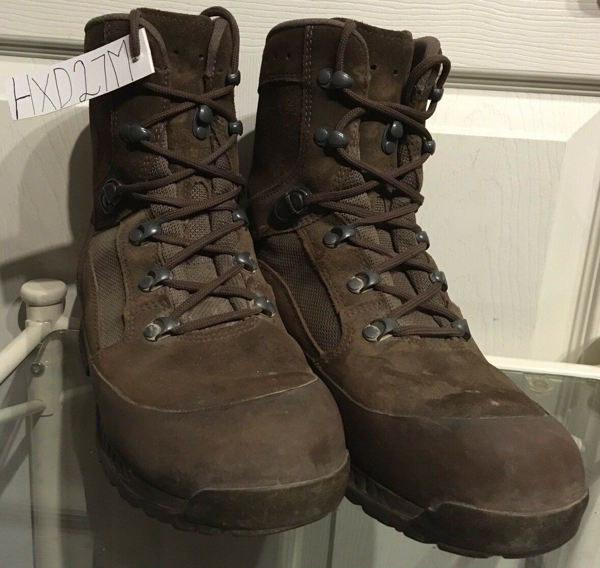 Haix Desert Brown Suede MTP Army Issue Female Combat Boots 7M HXD27M